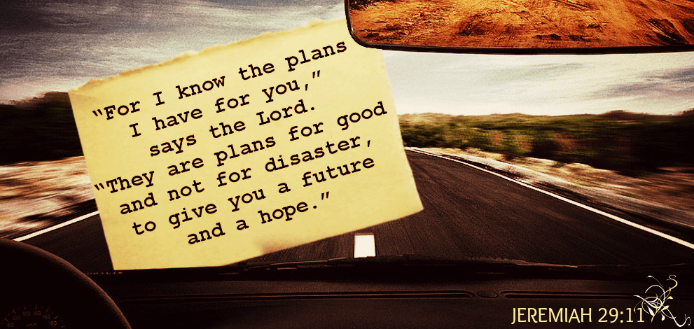 God 'ALONE' knows the plans for you!