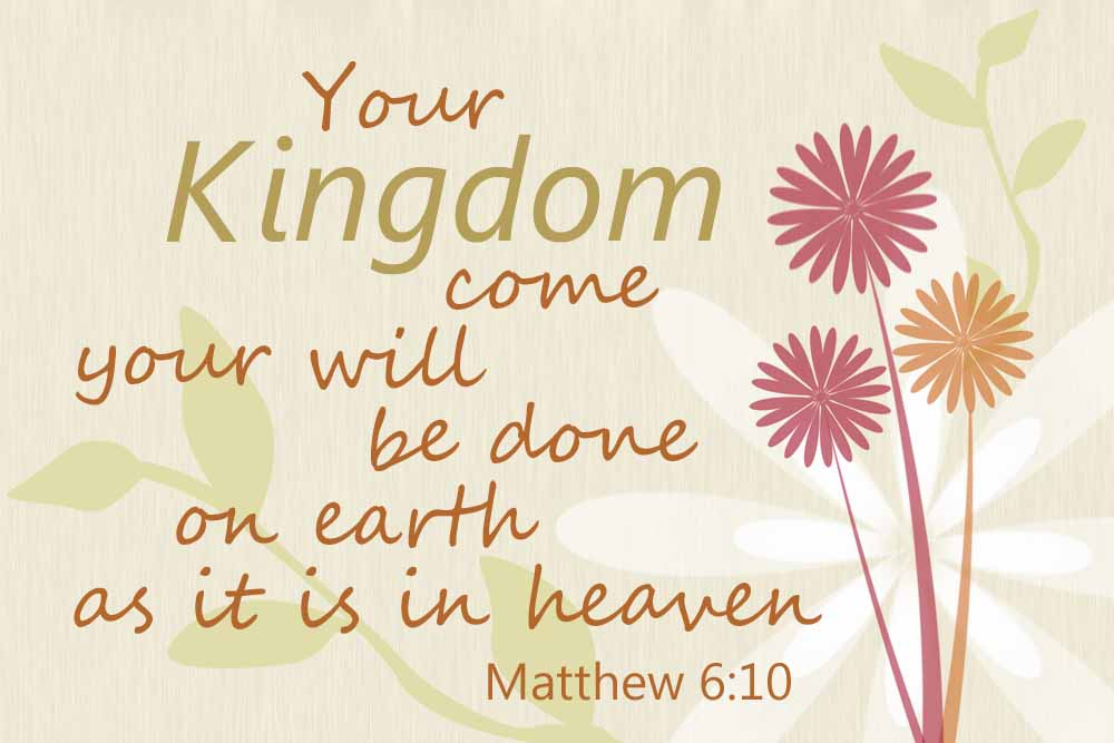 GOD'S KINGDOM COME
