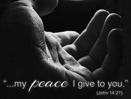 PEACE OF CHRIST BE WITH YOU