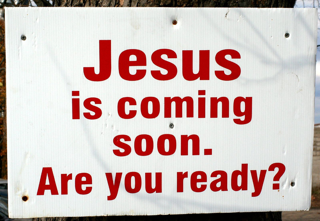 JESUS IS COMING AGAIN - ARE WE READY?