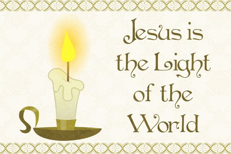 JESUS THE LIGHT OF THE WORLD